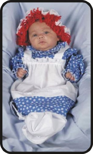 Raggedy Ann Bunting Infant Costumes (Baby Girl'S Costume: Raggedy Ann Bunting, 3-9 Mos. - Product Description - Dress And Apron Bunting. Hat With Attached Wig Included. Infant 3-9 Months. ...)