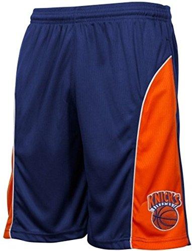 63484e01f Amazon.com   Majestic York Knicks NBA Birdseye Shorts Royal Blue ...