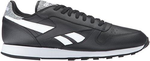 Leather Reebok Sneaker Pop Men's Black Fashion Classic White wx1FEWrE