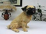 Simulation Dog Decoration Watch Dog Pet Dog Pug Decoration Home Decoration Bagot Crafts