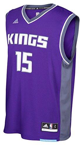 NBA Sacramento Kings DeMarcus Cousins #15 Men's Road Replica Jersey, X-Large, Purple