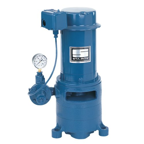 (Sta-Rite MSF 1 1/2 H.P. 1/115-220V, Vertical Multi-Stage Deep Well Jet Pump. )