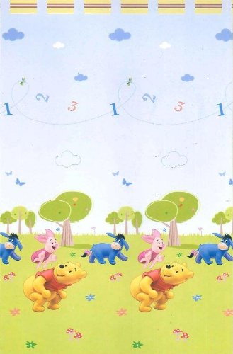 Disney Winnie The Pooh Tenda Cameretta in Voile Bianco: Amazon.it ...