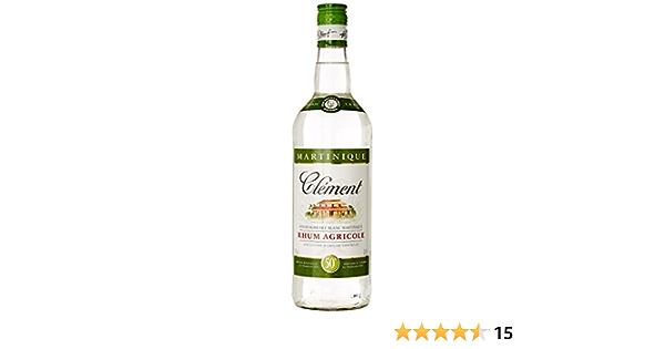 Clément Ron agricole Blanc (1 x 1 l)
