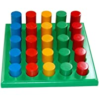 Little Genius Rod Sorting Board, Multi Color