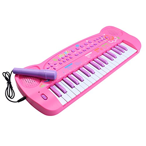 Kids Piano, aPerfectLife Kids Keyboard Piano 37 Keys Multi-function Electronic Organ Musical Keyboard Learning Educational Toy for Children