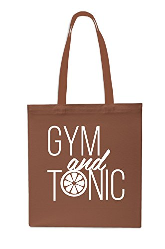 Gym x38cm Chestnut Shopping And Beach 42cm Grey Tote Bag 10 Tonic Gym litres Oaq1IO