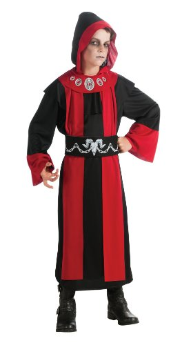 Deluxe Child's Dark Lord Costume, Medium (Devil Robe Child Costume)
