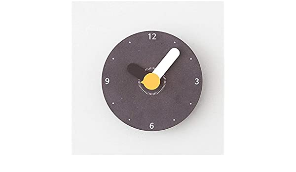Amazon.com: Indoor Non-Ticking Silent Cute Wall Clock Quiet Sweep Movement Office Decor Wall Decor (Color : Green, Size : S): Home & Kitchen