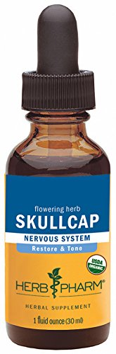 Herb Pharm Certified Organic Skullcap Extract for Nervous System Support - 1 Ounce