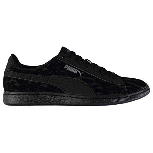 Chaussures femme Sports Baskets Puma Noir Baskets pour Sneakers Vikky Officiel dOXwdq