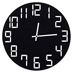 YJSMXYD Wall Clocks for Living Room 3D Large Metal Crystal Modern Home Decoration Silent for Living Room Office Classic Fashion Quiet Design Suitable for Decoration in Places Such As Family Rooms