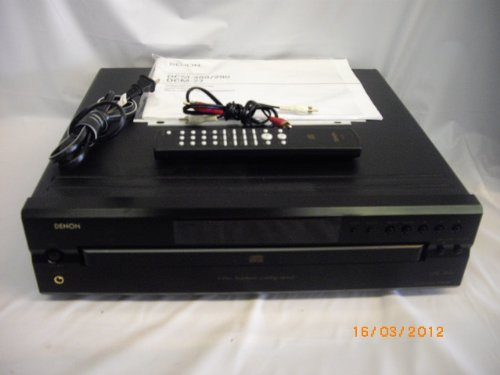 Denon DCM-290 CD/CD-R/RW 5 Disc Changer (Discontinued by Manufacturer)