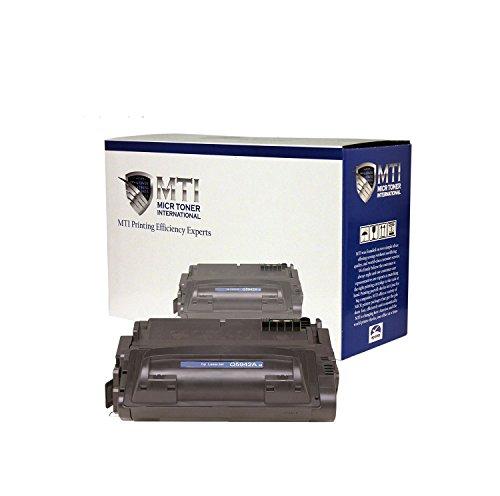 (MTI © MICR Universal Troy 02-81135-001 | HP Q5942A (42A) MICR Toner Cartridge for Troy / HP LaserJet Printers: 4240, 4250, 4350 Series)