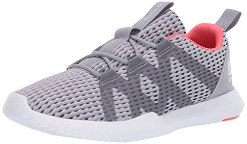 Reebok Women's REAGO Pulse, Cool Shadow/Cold Grey/White/Bright Rose, 6 M ()