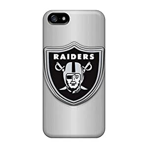 Anti-Scratch Hard Phone Cases For Apple Iphone 5/5s With Allow Personal Design Nice Oakland Raiders Image KevinCormack