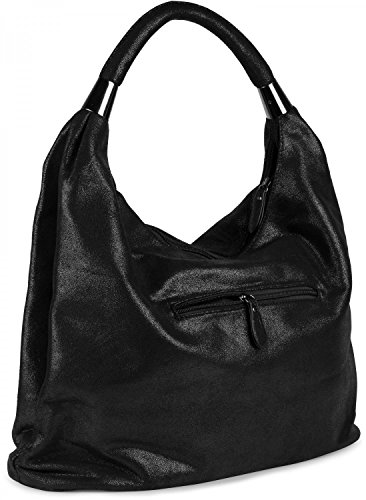 bag 02012050 pouch sling Light styleBREAKER Shiny vintage Brown design Shiny bag carrying bag Black handbag ladies Color nvqppUxI