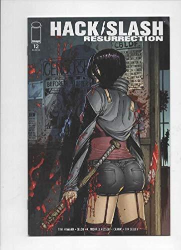 HACK SLASH Resurrection #12 B, VF, 2017 2018, Horror, Attack -