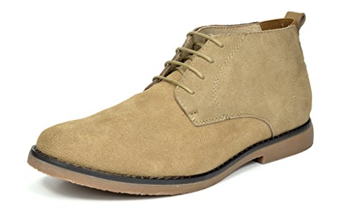 Bruno Marc Men's Chukka Sand Suede Leather Chukka Desert Oxford Ankle Boots - 7.5 M ()