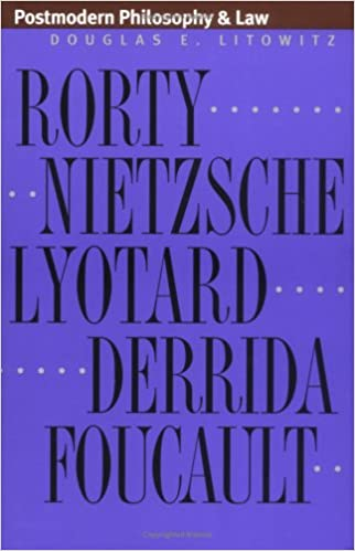 Postmodern Philosophy and Law, Litowitz, Douglas E.