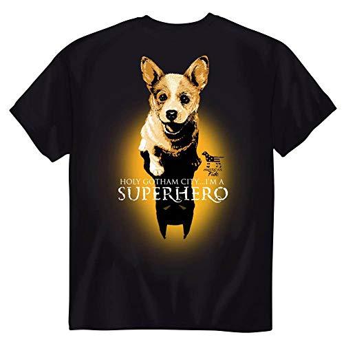 American Fido Dogs I'm A Superhero Cute Puppy T-Shirt Tee Men Women