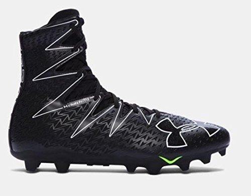 Under Armour Highlight MC Football Cleat (11.5 D(M) US, White/Metallic Silver) (White And Silver Under Armour Highlight Cleats)
