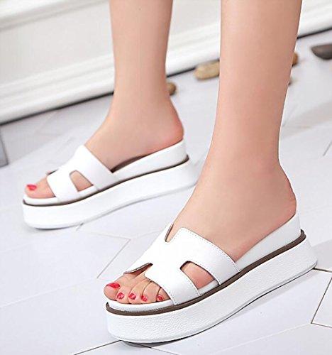 Moda Planas Y A Verano color Tamaño B sandalias Con Sandalias Pendientes De Zapatillas Mujer Fafz Pantuflas 35 SwXfvW
