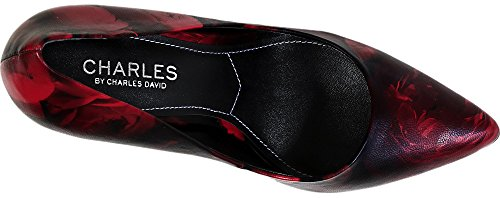 Charles by Charles David Womens Pact Dress Pump, Red, Size 8.5