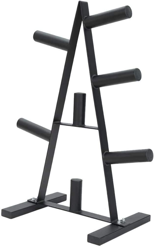 Olympic Weight Plate Rack, A Frame Weight Plate Tree 2 inch for Bumper Plates Free Weight Stand Metal Steel Home Workout Dumbbell Rack Storage Stand : Sports & Outdoors