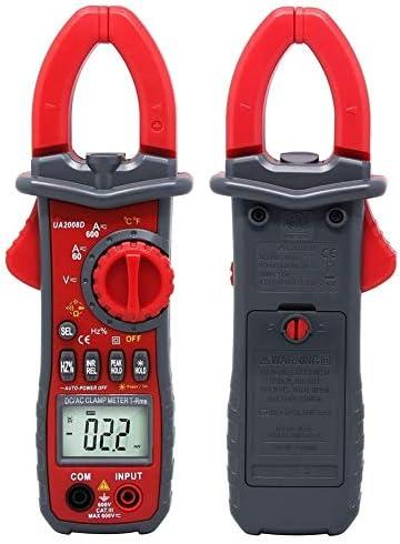 UA2008D Clamp Meter Multimeter Digital Multi Tester Voltmeter Ammeter Ohmmeter AC DC Voltage Current Resistance for Factory and Other Social Fields