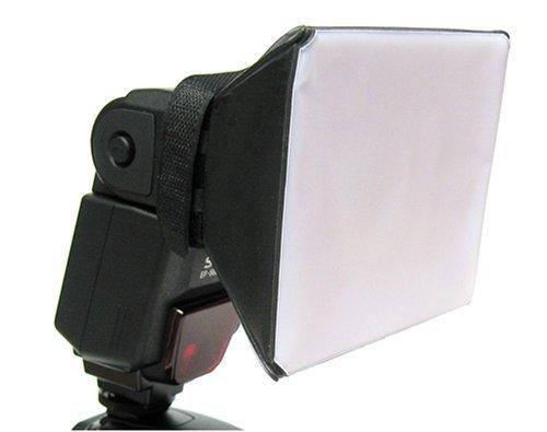 Opteka SB-1 Universal Studio Soft Box Flash Diffuser for Canon EOS, Nikon, Olympus, Pentax, Sony, Sigma, & Other External Flash Units Studio Flash Unit