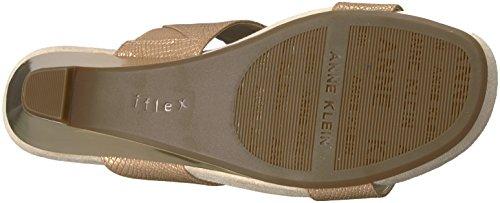 Sandal Synthetic Klein Anne Women's Teela Light Wedge Bronze qxawpOwIR