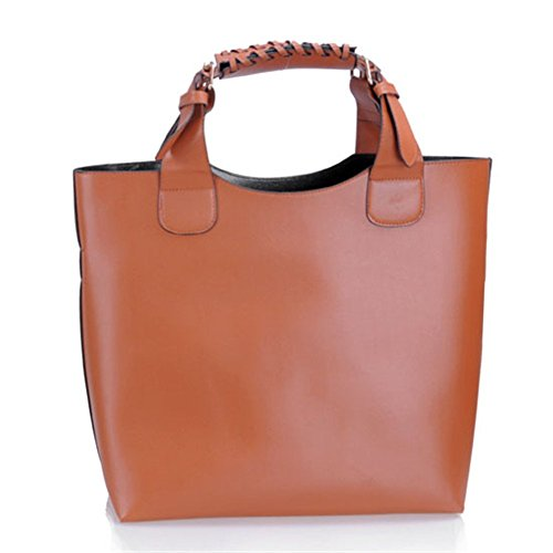 Stylla London - Shoulder Bag For Large Brown Brown Brown Woman