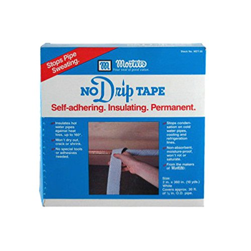 Thermwell Products NDT30 No-Drip Pipe Tape, 30-Ft. - Quantity 1