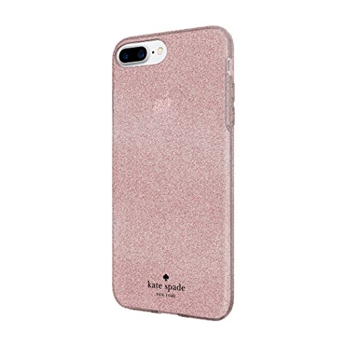 kate spade new york Flexible Glitter Case for iPhone 8 Plus - also compatible with iPhone 7 Plus, iPhone 6+/6s+ - Rose Gold Glitter by Incipio (Image #2)