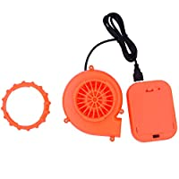 HUAYUARTS USB Mini Fan Blower for Inflatable Costume Adult Red Blow up Suit Fans Christmas Cosplay