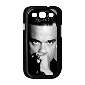 Robbie Williams funda Samsung Galaxy S3 9300 caja funda del teléfono celular del teléfono celular negro cubierta de la caja funda EEECBCAAL07023