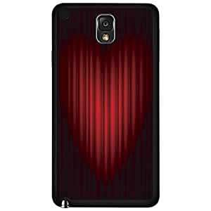 Red Hollywood Play Curtain Hard Snap on Phone Case (Note 3 III)