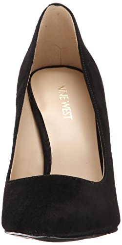 Nine West Women's Tatiana Dark Natural Suede Dress Pump Black Suede free shipping release dates low cost sale online clearance for nice free shipping big discount outlet huge surprise R0xYeBCB