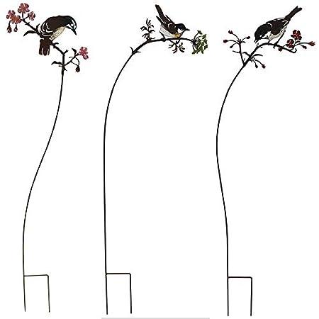 La Grande Prairie - Juego de 3 tutores de pájaros en Ramas (93 cm ...