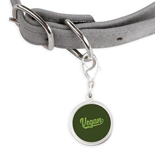 CafePress Vegan - Small Round Pet Tag by CafePress