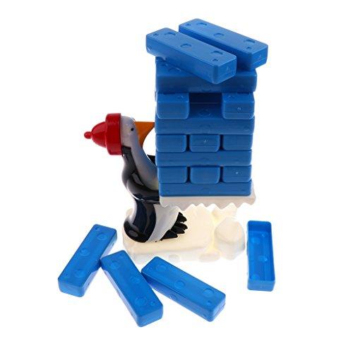 Fenteer スタッキングゲーム おもちゃセット ペンギン 氷ブロック スタッキング バランスゲーム ボードゲーム