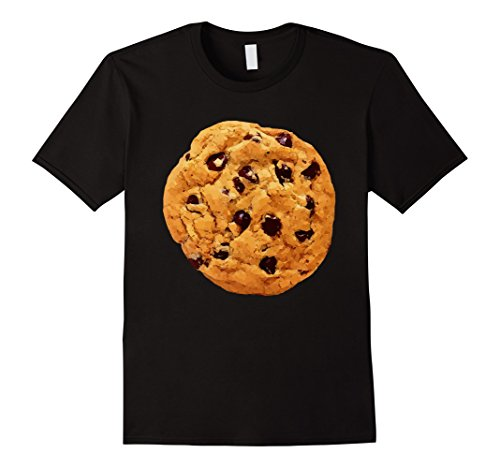 Mens Funny Last Minute Halloween Costume Cookie T-Shirt Big Tee Large (Last Minute Halloween Costumes Adults)