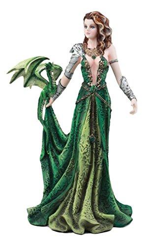 Ebros Seductive Elphaba Dragon Witch Doctor Warrior Statue 10