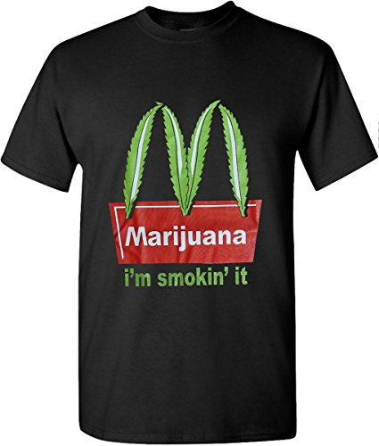 McDonald-Marijuana-Weed-Leaf-T-Shirts-Hip-Hop-Graphic-New-Edition