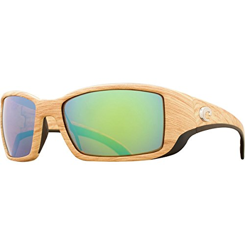 Costa Del Mar Blackfin Sunglass, Ashwood/Green Mirror - Del Is Where Costa Mar