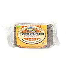 Everfresh Bakery - Sprouted Wheat Bread with Sunseeds - 400g (Case of 8)