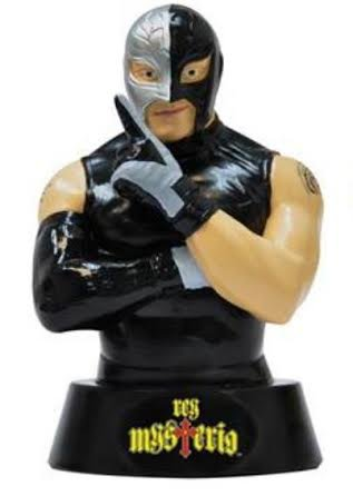 WWE Figure Coin Bank - Rey Mysterio 6 '' tall by WWE