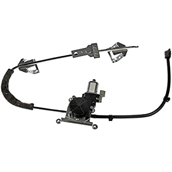 Dorman 741-538 Front Driver Side Replacement Power Window Regulator with Motor for Jeep Cherokee/Comanche
