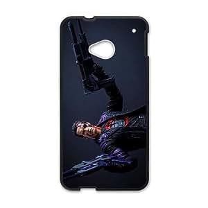 HTC One M7 Phone Cases Black Terminator FJo900108